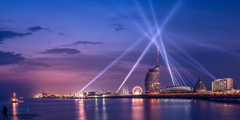 Light on Bremerhaven