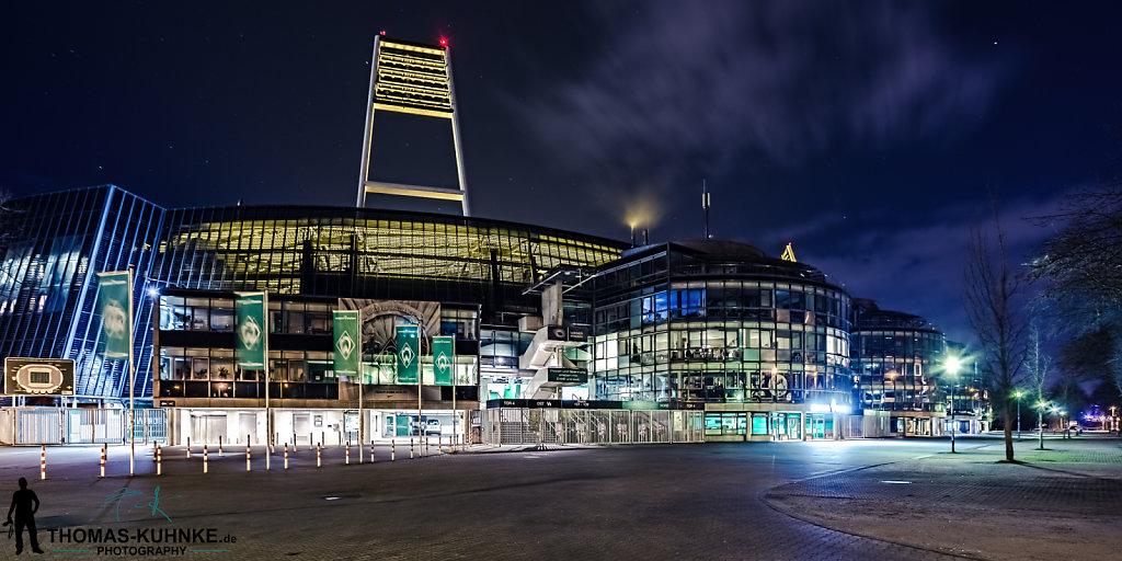 Weserstadion Vorplatz Ost
